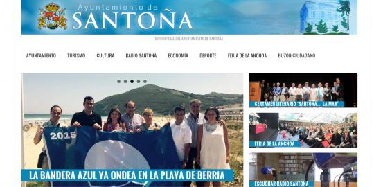 Ayuntamiento de Santoña: Portada