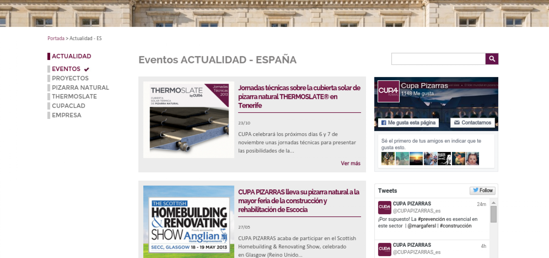 Blog CUPA PIZARRAS: Listado